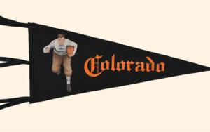colorado college pennant